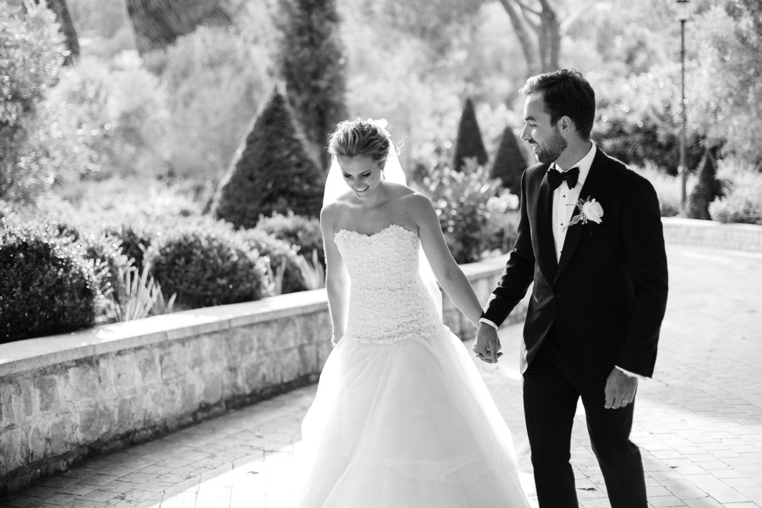Airsnap, wedding photography and videography — Emily & Chris, Château Saint Jeannet, French Riviera