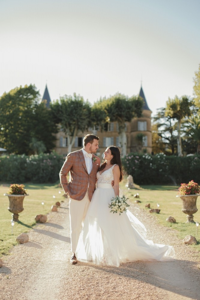 Airsnap, wedding photography and videography — Florie & Hadrien, Château de Robernier, Provence