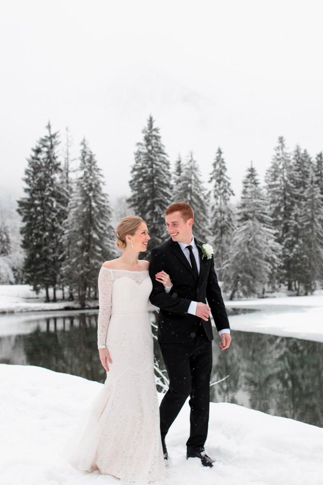 Airsnap — Photographes et vidéastes de mariage — Katrina & Zac, Chamonix