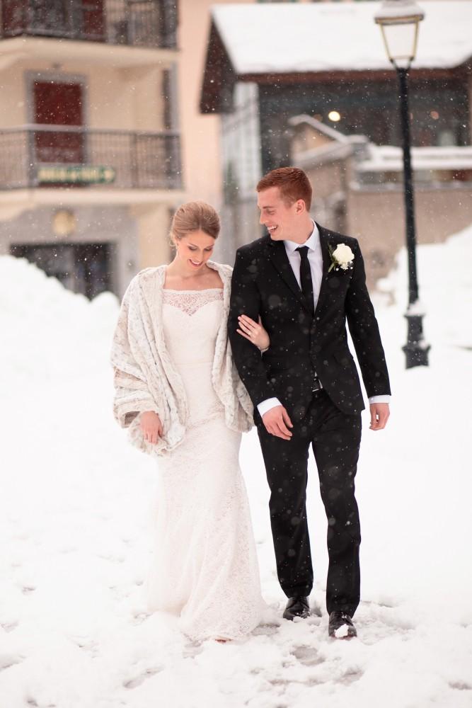 Airsnap | Wedding Photo & Video — Katrina & Zac, Chamonix