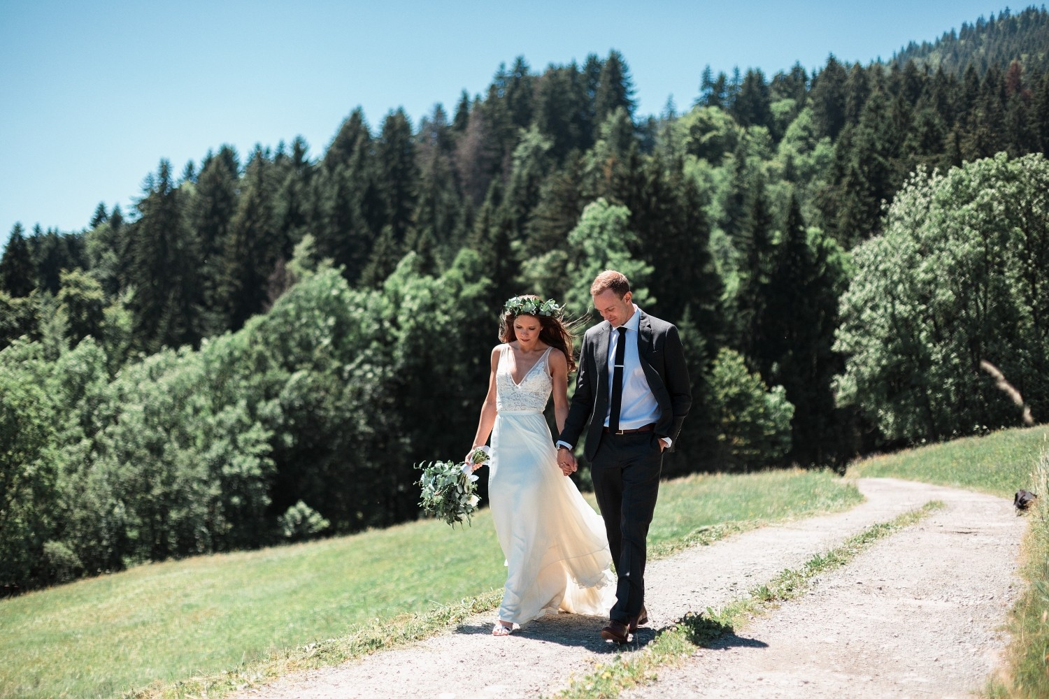 Airsnap | Wedding Photo & Video — Laura & David, French Alps