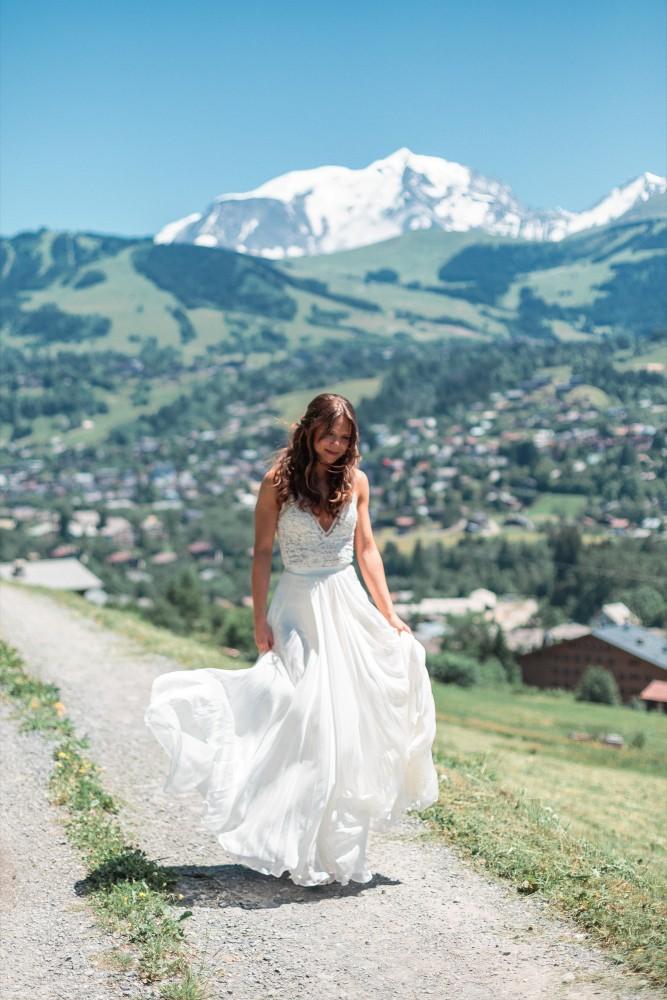 Airsnap | Wedding Photo & Video — Laura & David, French Alps