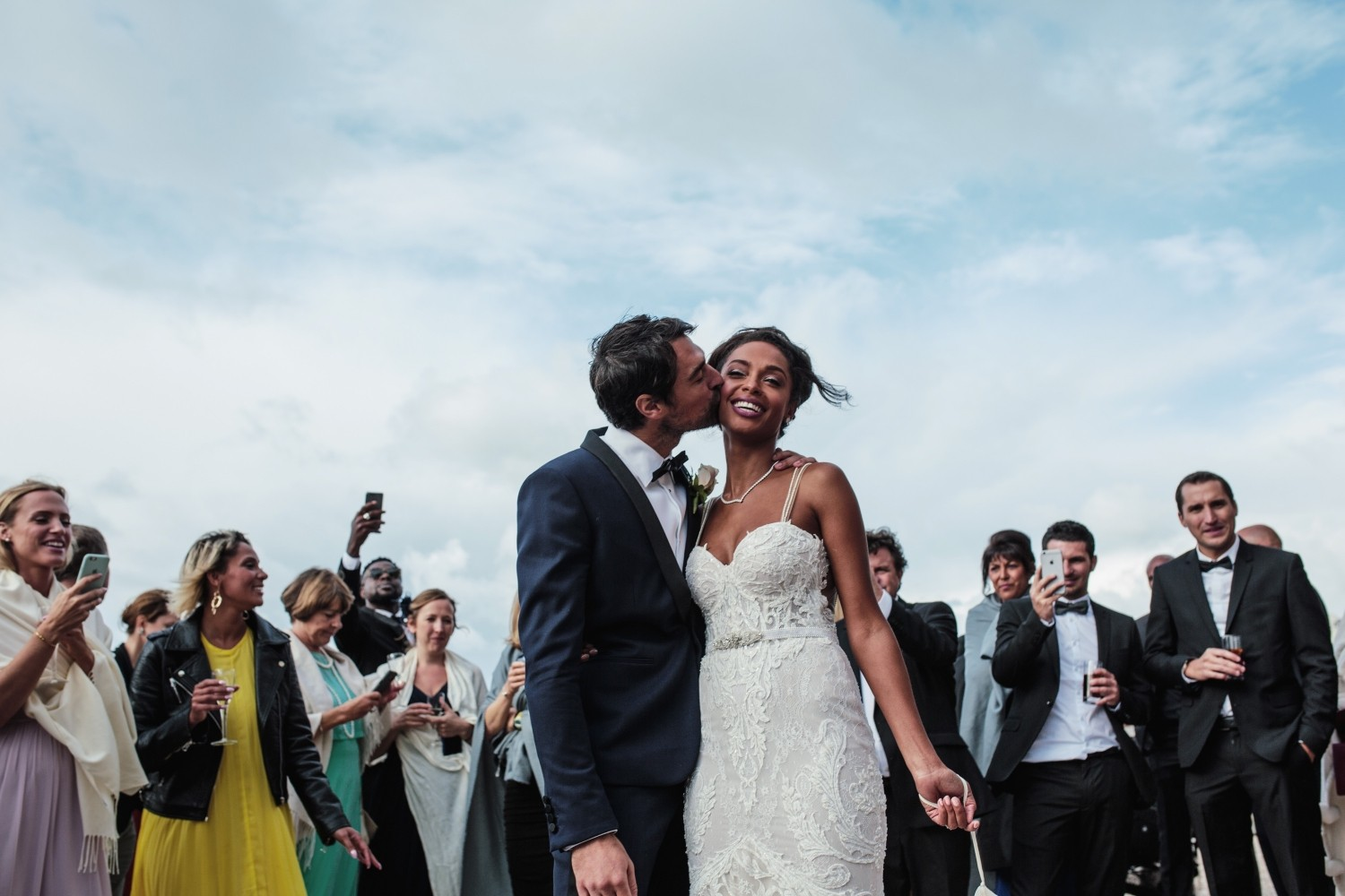 Airsnap, wedding photography and videography — Susan & Jeremy, Hôtel du Palais, Biarritz